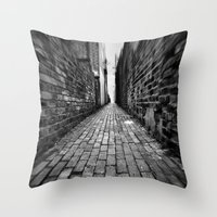 Ginnel Throw Pillow