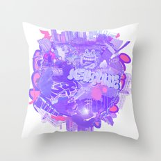 002- Melbourne Throw Pillow