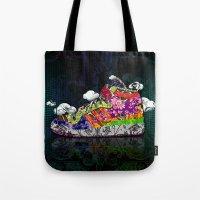 Horror Vacui - Baskets01 Tote Bag