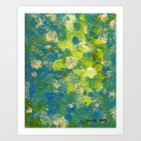 Springy Art Print