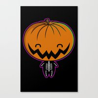 Cutie Pumpkin Pie Canvas Print