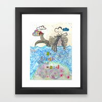 The Mermaid Of Zennor Framed Art Print