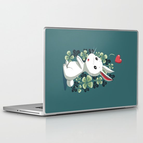 Clover Bunny Laptop & iPad Skin