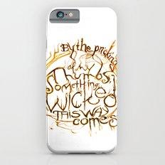 Something Wicked Macbeth Shakespeare Illustration Slim Case iPhone 6s