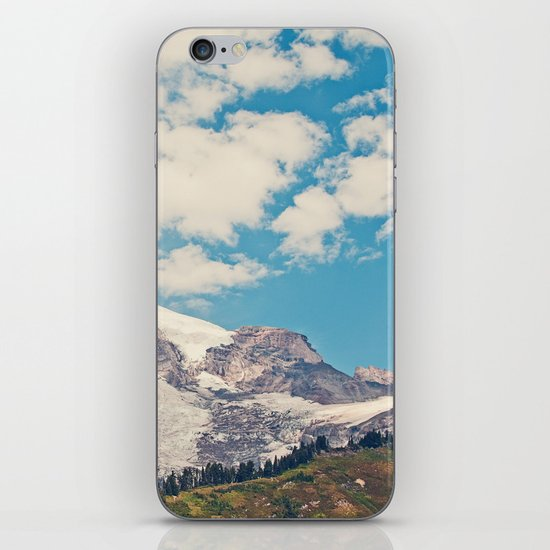 Mount Rainier iPhone & iPod Skin