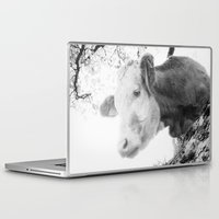 cow Laptop & iPad Skins featuring COW by Julia Aufschnaiter
