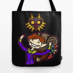 Happy Mask Salesman Tote Bag