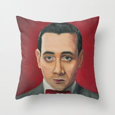 Pee-Wee Herman, A Portra… Throw Pillow