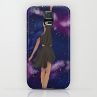 Galaxy S5 Cases featuring Reach For the Stars by Nerdbutt