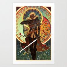 the antivan crow Art Print