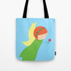 Flower Faerie Tote Bag