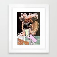 Hold  Framed Art Print