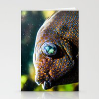 Mirrored Eyes Stationery Cards