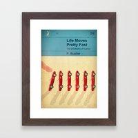 TEXTBOOK FERRIS Framed Art Print