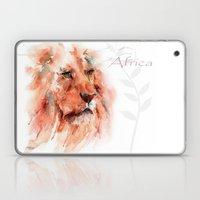 Kiburi ... Lion Laptop & iPad Skin