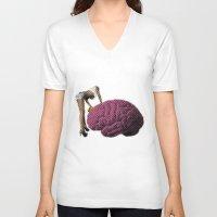 Brainwash Unisex V-Neck
