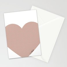 I love you this much... (light purple) Stationery Cards