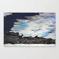 Mountains Wildlife. Moun… Canvas Print