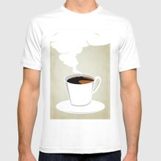 Neapoletan Breakfast Mens Fitted Tee White SMALL