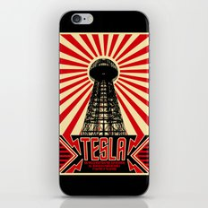 Tesla iPhone & iPod Skin