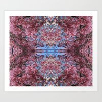 Pretty in Pink Collage 3 Art Print