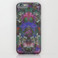 iPhone & iPod Case featuring Midnight Garden by PatternPeople