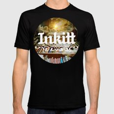 Inkitt empowers authors to become the kings and queens of the universe Mens Fitted Tee Black SMALL