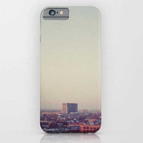 Morning Over Detroit iPhone & iPod Case