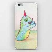 Wormrah the 'giant' monster. iPhone & iPod Skin