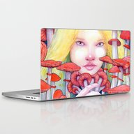 Keeper Of The Scarlet Ga… Laptop & iPad Skin