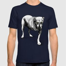 Tripod Mens Fitted Tee Navy SMALL