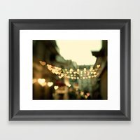 Looking for Love - Paris Hearts Framed Art Print