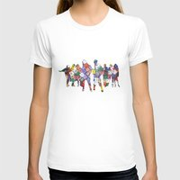 It Is Not The Size Of A … Womens Fitted Tee White SMALL