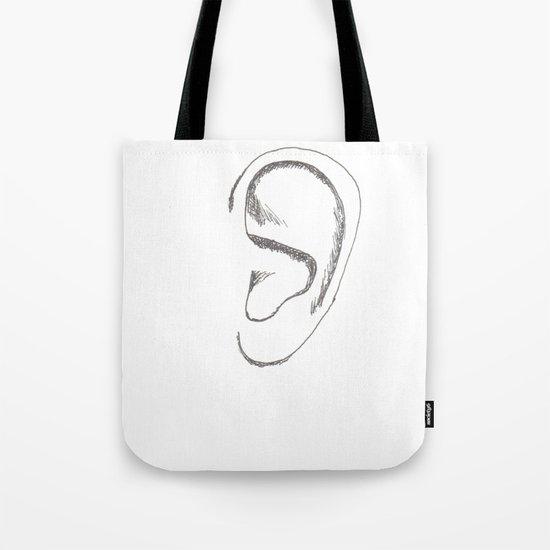 an earful Tote Bag