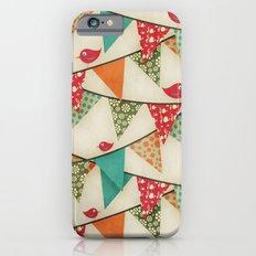 Home Birds 'N' Bunting. Slim Case iPhone 6s