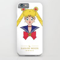 iPhone & iPod Case featuring Sailor Moon by Robert Woods