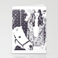 Cara and her Horse Stationery Cards