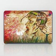 wind girl iPad Case