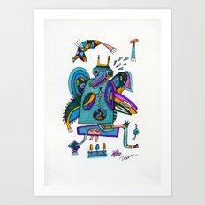 Tilto Art Print