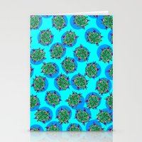 GermFlower Wallpaper (Ch… Stationery Cards