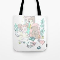EMO GIRLS Tote Bag