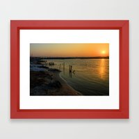 'morning sunshine Framed Art Print