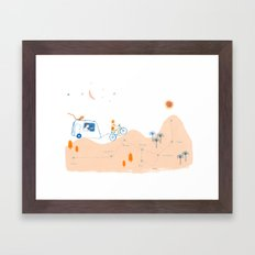 from Paloma to Damian Framed Art Print