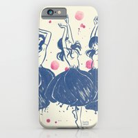 iPhone & iPod Case featuring Dancing Poppies by Judith Chamizo