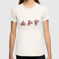 Excitebike Womens Fitted Tee Natural SMALL