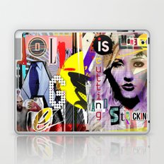 Collage is more than just cutting and sticking. Laptop & iPad Skin