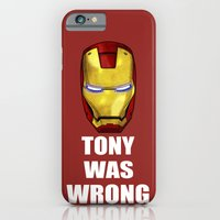 Tony Was Wrong (Iron Man… iPhone 6 Slim Case