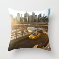After The Gold Rush Throw Pillow