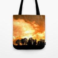 Mystical Hill Tote Bag