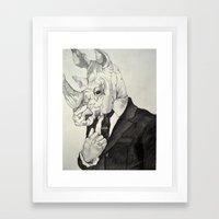 Confidence Framed Art Print